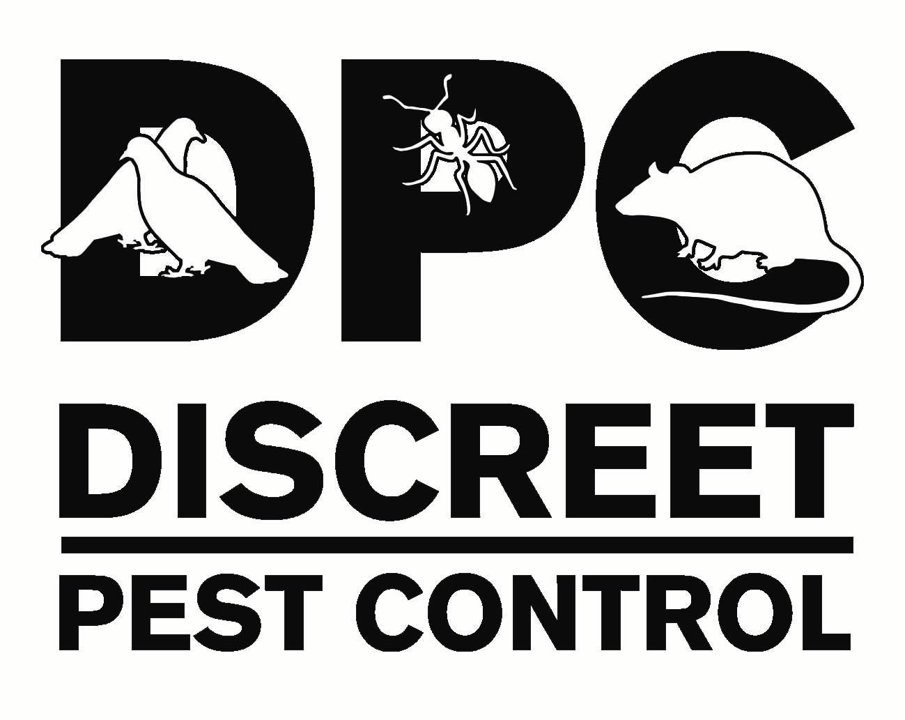 Discreet Pest Control Logo
